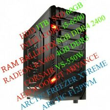 PC GAMING DESKTOP INTEL CORE i5-6500 RAM 8GB SCHEDA VIDEO 4GB SSD 60GB HDD 1TB