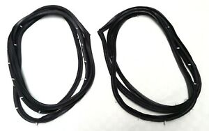 2 TWO DOOR FRAME RUBBER SEALS LEFT & RIGHT HAND FITS TOYOTA COROLLA KE20