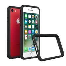 iPhone 8/7 Case RhinoShield Bumper [11 Ft Drop Tested] ShockProof Tech-Black
