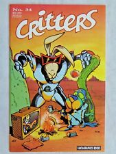 Critters No. 34 March 1989 Fantagraphics Books First Print Nov. 1988 VF/NM (9.0)