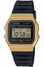 Casio Unisex Watch Classic Collection Alarm Chronograph F-91wm-9aef