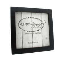"Gallery Picture Frame, 1""  multiple sizes and colors, solid wood home decor"
