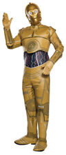 Star Wars Adult C-3PO Classic Droid Robot Suit & Mask Rubie's Halloween Costume