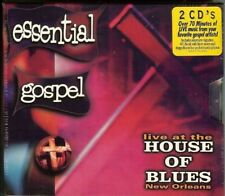 ESSENTIAL GOSPEL - LIVE AT HOUSE OF BLUES, NEW ORLEANS - V/A - 2 CD BOX SET -NEW