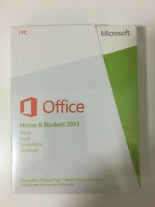 Office Home & Student 2013 32/64 Bit Eurozone Medialess Retail Box 79G-03605