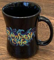 Rainforest Cafe 3D Black Tree Frog Coffee Mug Cup 12oz