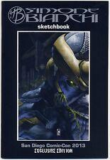 SIMONE BIANCHI Sketchbook SIGNED San Diego 2013 Exclusive Thanos LTD 600 RARE NM