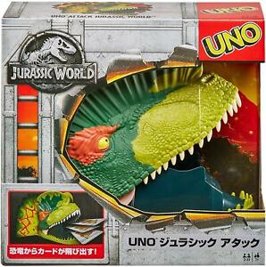 UNO Attack! Jurassic World Classic Party Card Game Mattel Games DEALS