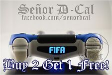 1x FIFA Logo Sony Ps4 Dualshock 4 Lightbar Decal Sticker