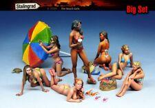 1:35 THE BEACH GIRLS 7 figure Resin Model Kit