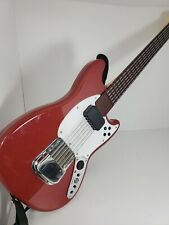 Rock Band 3 Wireless Fender Mustang Pro Guitar PS3 Stratocaster Red No Dongle