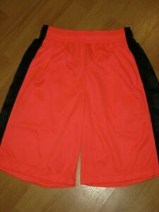 Boys Nike Elite athletic shorts Small neon dri fit excellent! polyester