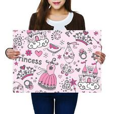 A2 | Pretty Princess Fairy - Size A2 Poster Print Photo Art Daughter Gift #13104