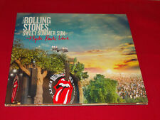 THE ROLLING STONES - 3 LP 1 DVD - SWEET SUMMER SUN - HYDE PARK LIVE
