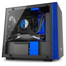 Caja torre Nzxt H200i cristal templado USB 3.0 Negra/azul