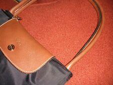 Longchamp Le Pliage Black Tote Bag Large