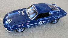 Welly 1:18 1969 Dan Gurney #2 Tran-Am race car Mustang Boss 302 Replicarz
