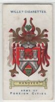 Hannover Coat Of Arms Germany Lower Saxony 100+ Y/O  Ad Trade Card