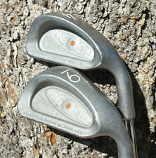 New listing EXCELLENT PING EYE 2 + BROWN DOT IRONS KT-M STIFF STEEL PLUS MODEL NEW GRIPS #W2