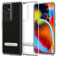 Galaxy S21, S21 Plus, S21 Ultra Case   Spigen® [Ultra Hybrid S] Kickstand Case