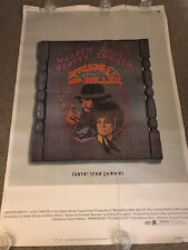 """Original McCabe and Mrs. Miller Movie Poster 40"""" x 60""""  ROUGH CONDITION 71/207"""