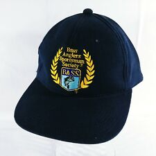B.A.S.S. Bass Anglers Cap Sportsman Society Baseball Cap Hat Snapback Trucker