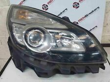 Renault Scenic MK3 2006-2009 Drivers OSF Front Headlight Black Backing