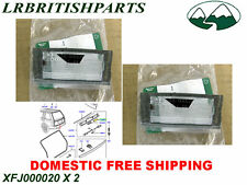 GENUINE LAND ROVER LICENCE PLATE BULB RANGE ROVER 03-12 SET OF 2  NEW XFJ000020