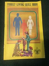Family Living Skill Book, BSA, 1974 w/troop leader's Can-Do kit
