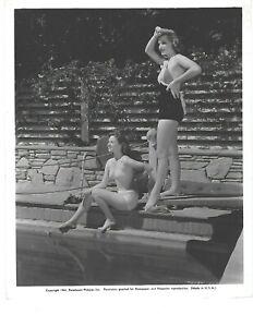 1941 ORIGINAL SUSAN HAYWARD BETTY FIELD PIN UP BY POOL
