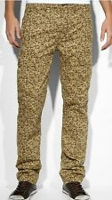 Levi's Slim Straight Cargo Gold Harvest Camo Men's Jeans Size 34 X 29 New! $68