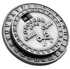 Secret Decoder Ring - Caesar Cipher Medallion Little Orphan Annie Style