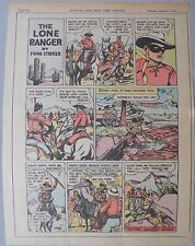 Lone Ranger Sunday Page by Fran Striker and Charles Flanders from 1/3/1943