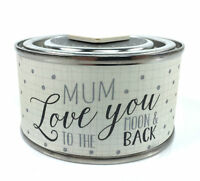 Mum Gift - Tin Candle With Wooden Heart East Of India 2142 EOI