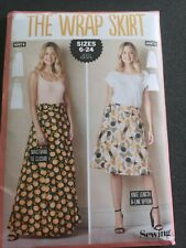 The Wrap Skirt Simply Sewing Pattern Uncut sizes 6-24