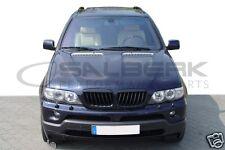 schwarze Nieren Set für BMW X5 E53 FL XL-Look schwarz glänzend Frontgrill