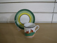 More details for clarice cliff wedgwood cup and saucer ' secrets '