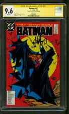 Batman 423 CGC SS 9.6 Jim Starlin Auto 9/1988 Cockrum Iconic McFarlane art Cover