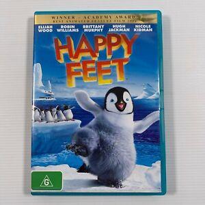 Happy Feet (DVD 2007) Hugh Jackman Elijah Wood Region 4