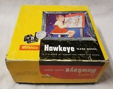 Box for KODAK BROWNIE HAWKEYE Camera Flash Outfit 177L 2-piece Yellow BOX ONLY