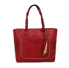 YOLANDO Women Tote Bag Leather Bags Handbag Shoulder Hobo Purse Messenger 24