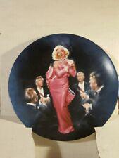 Marilyn Monroe Diamonds Are A Girl's Best Friend Plate. 1990 Plate # 14287 A