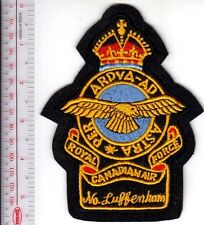 Canada Royal Canadian Air Force RCAF England WWII North Luffenham RAF Base