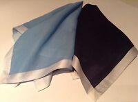 Daks Two Sets Handkerchief Pocket Square  by British Designer 100% cotton new b