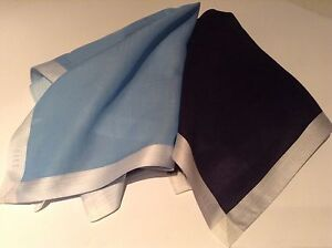 Daks 2 Handkerchief Pocket Square  by British Designer 100% cotton new j