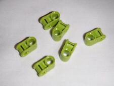6 x NUOVA LEGO Technic Asse & Connettore Pin perpendicolare (Verde 6149996)