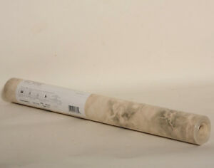 Rome Marble Green Beige Solid Vinyl Wallpaper Double Roll Wall Trends 30913789