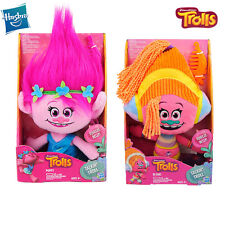 DreamWorks Trolls Talking DJ Suki Poppy Talkin' Throll Plush Stuffed Soft Doll