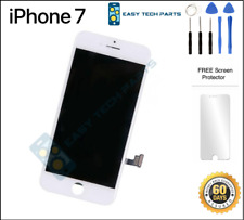 Blanco Digitalizador LCD OEM Montaje iPhone 7 3D pantalla táctil de repuesto A1660 4.7