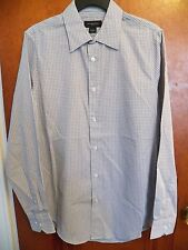 MEN'S SMALL - GRAY Modern Fit Long Sleeve Button Down Shirt Attention - NWT